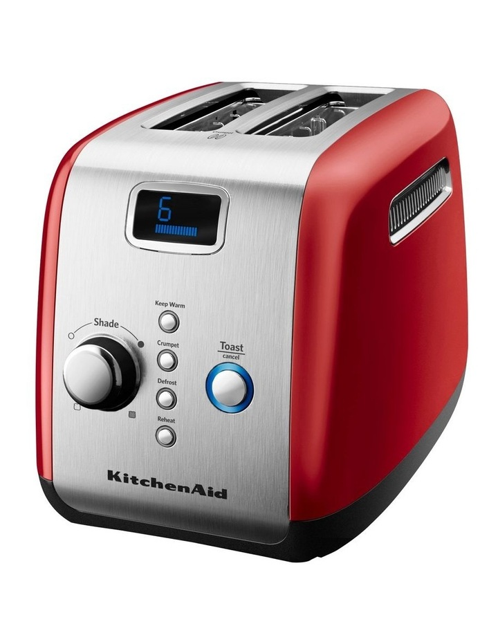2 Slice Artisan Automatic Toaster Empire Red 5AKMT223ER image 2