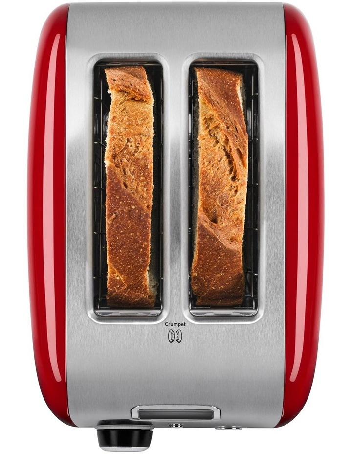 2 Slice Artisan Automatic Toaster Empire Red 5AKMT223ER image 3