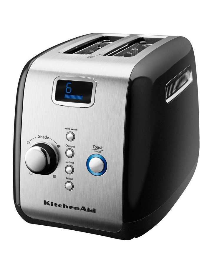 2 Slice Artisan Toaster Onyx Black 5AKMT223OB image 1