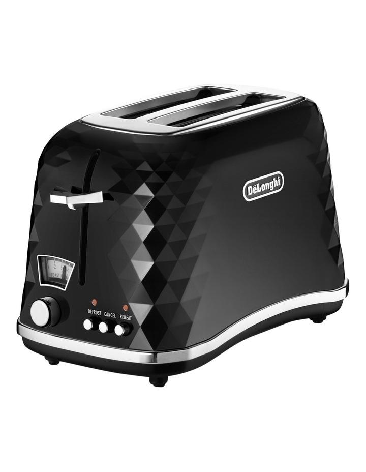 CTJ2003B Brilliante 2 Slice Toaster:Black image 2