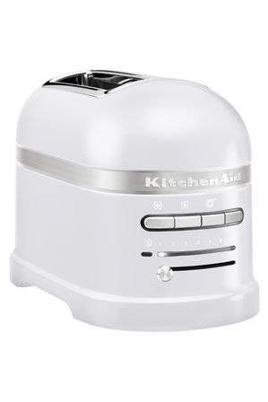 KitchenAid - Pro Line Series 2 Slice Automatic Toaster: Frosted Pearl