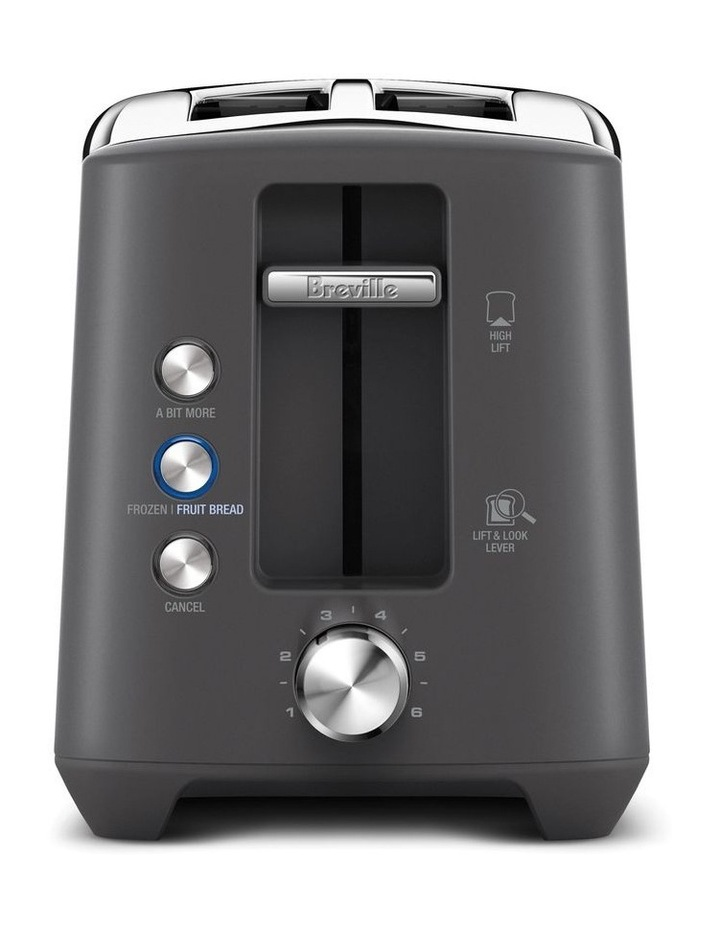 The Bit More Plus 2 Slice Toaster in Brushed Stainless Steel BTA435BSS image 2