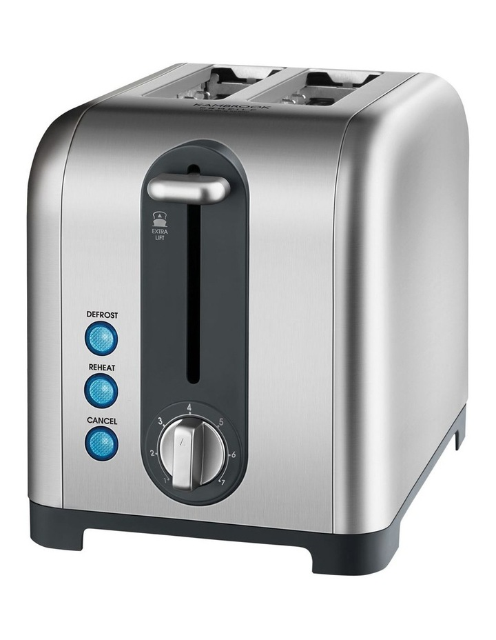 Profile 2 Slice Toaster Brushed Stainless Steel KT260BSS image 1