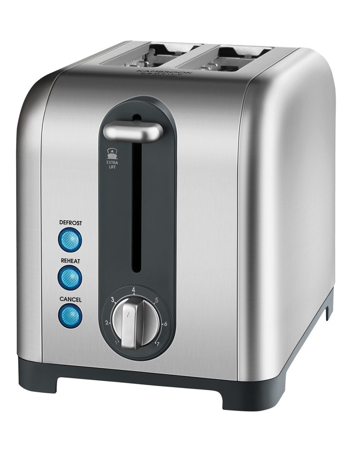 KT260BSS Profile 2 Slice Toaster: Brushed Stainless Steel image 1