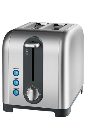 Kambrook - KT260BSS Profile 2 Slice Toaster: Brushed Stainless Steel