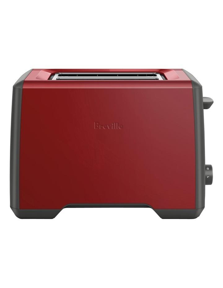 the Bit More 2 slice toaster:Cranberry BTA425CRN image 1