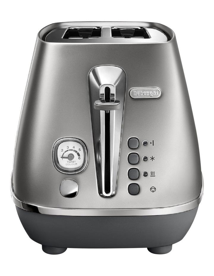 Distinta Flair 2 Slice Toaster - Finesse Silver CTI2003S image 1
