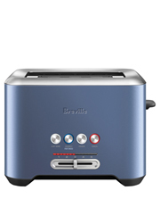 Breville - The Lift & Look 2 slice toaster:Blueberry Granita BTA720BBY
