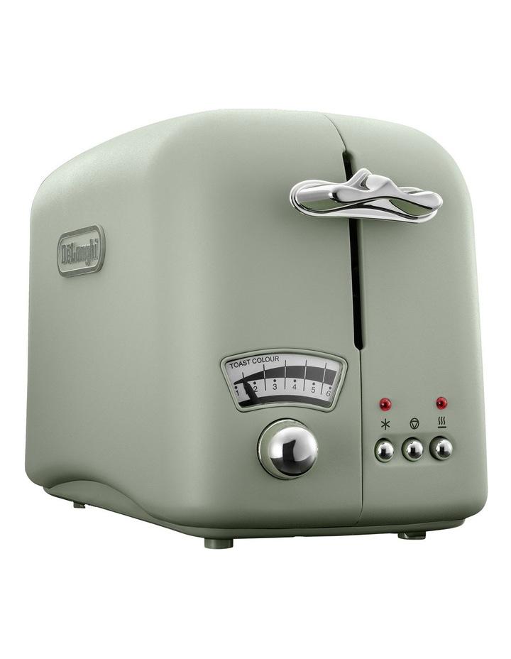 Argento 2 Slice Toaster: Green: CT02GR image 1
