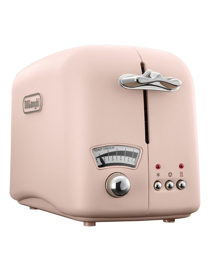 Argento 2 Slice Toaster: Pink: CT02PK image 2