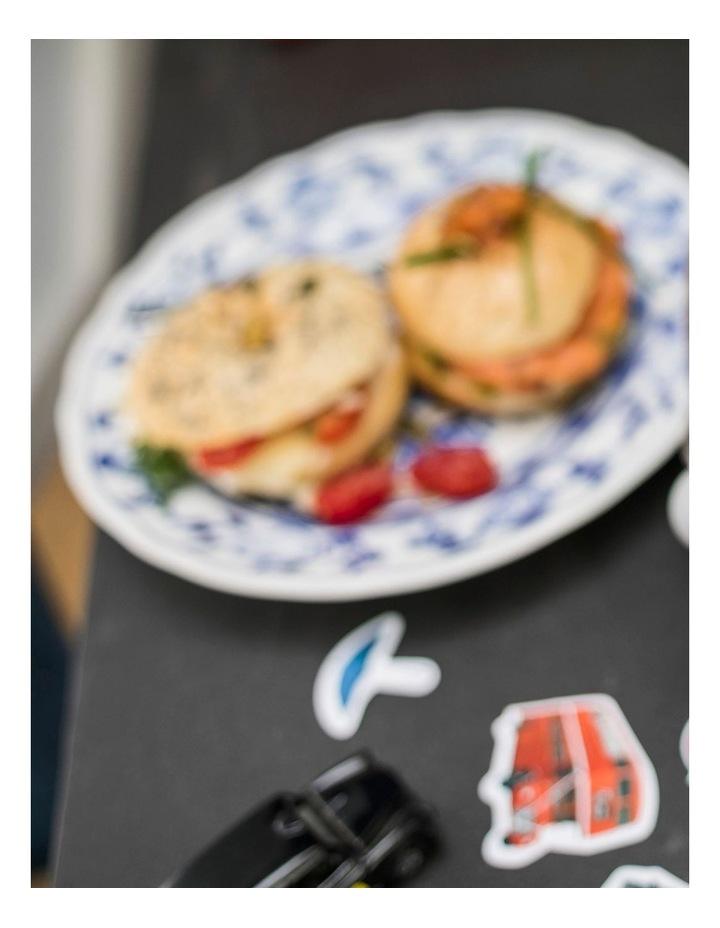 Icona Capitals London 2 Slice Toaster: Blue CTOC2003BL image 6