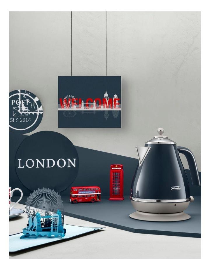 Icona Capitals London 2 Slice Toaster: Blue CTOC2003BL image 7