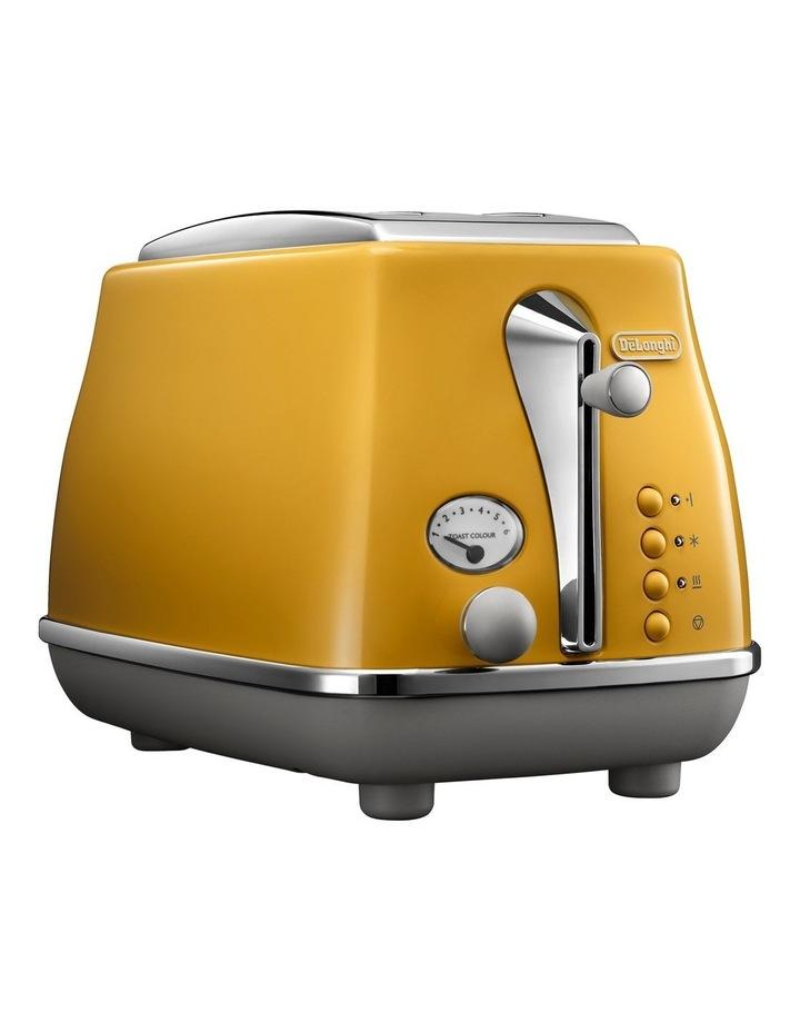 Icona Capitals New York 2 Slice Toaster Yellow CTOC2003Y image 2
