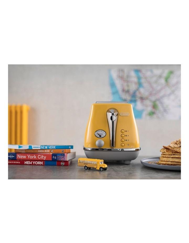 Icona Capitals New York 2 Slice Toaster Yellow CTOC2003Y image 4