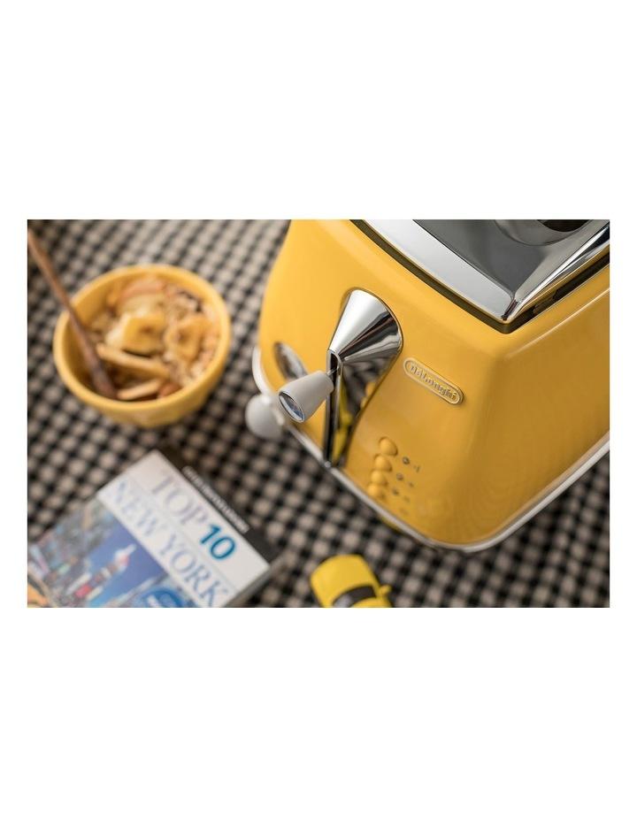 Icona Capitals New York 2 Slice Toaster Yellow CTOC2003Y image 5