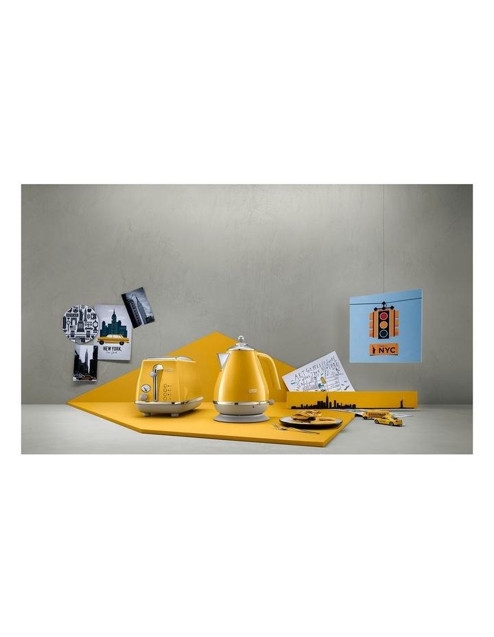 Icona Capitals New York 2 Slice Toaster Yellow CTOC2003Y image 7