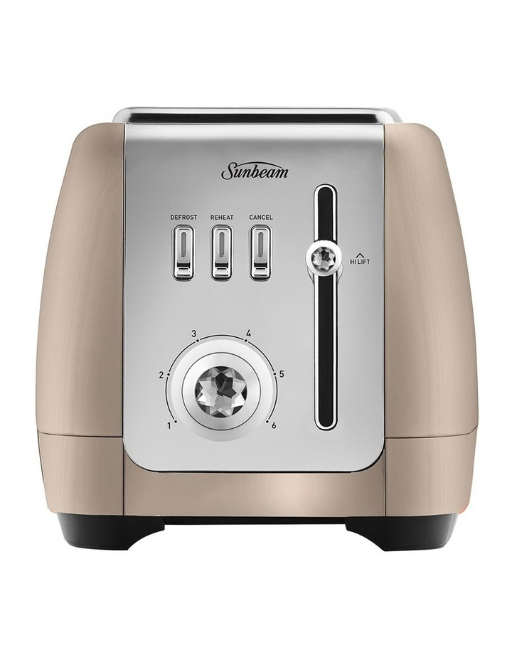 London 2 Slice Toaster Champagne TA2220CP image 1