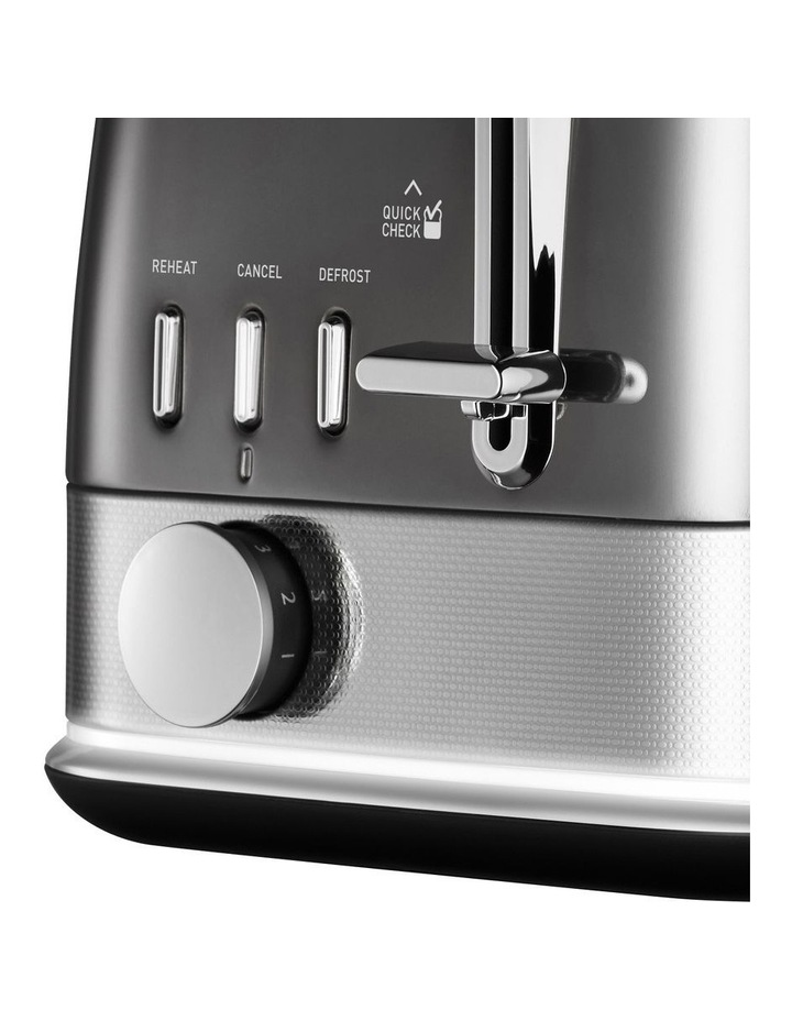 New York Collection 2 Slice Toaster Dark Stainless TA4420GR image 2