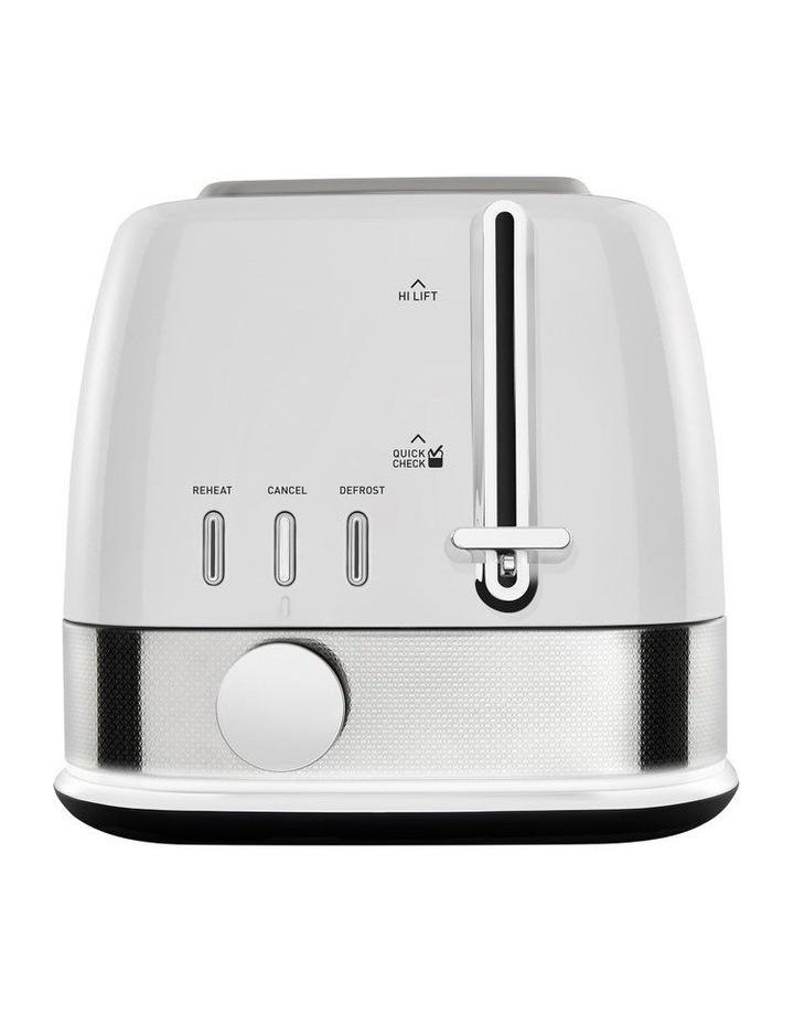 New York Collection 2 Slice Toaster White Silver TA4420WS image 1