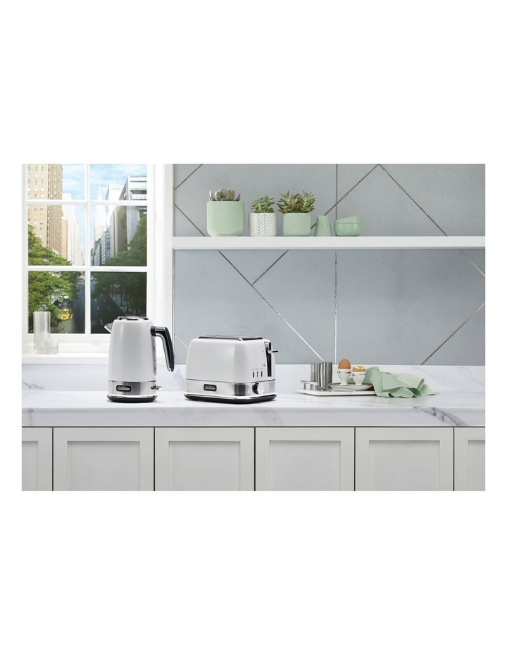 New York Collection 2 Slice Toaster White Silver TA4420WS image 4