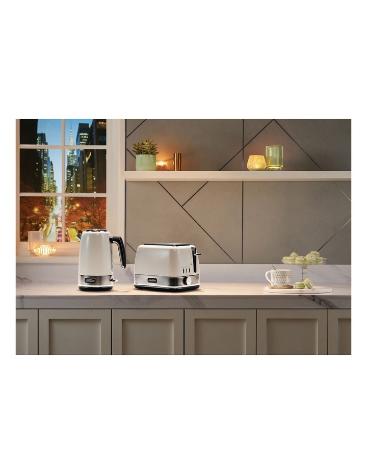 New York Collection 2 Slice Toaster White Silver TA4420WS image 6