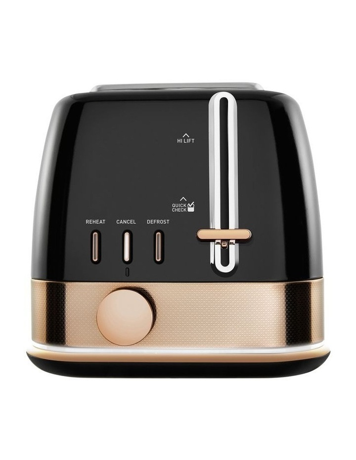 New York Collection 2 Slice Toaster Black Bronze TA4420KB image 1