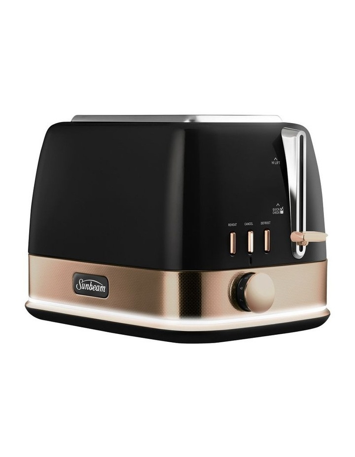 New York Collection 2 Slice Toaster Black Bronze TA4420KB image 3