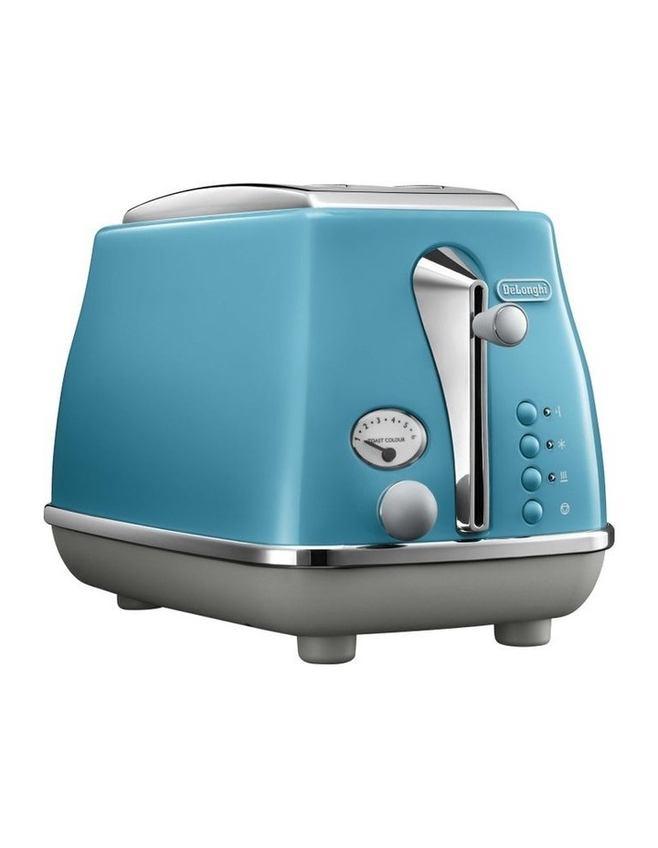 Icona Capitals 2 Slice Toaster - Lisbon Azure CTOC2003AZ image 1