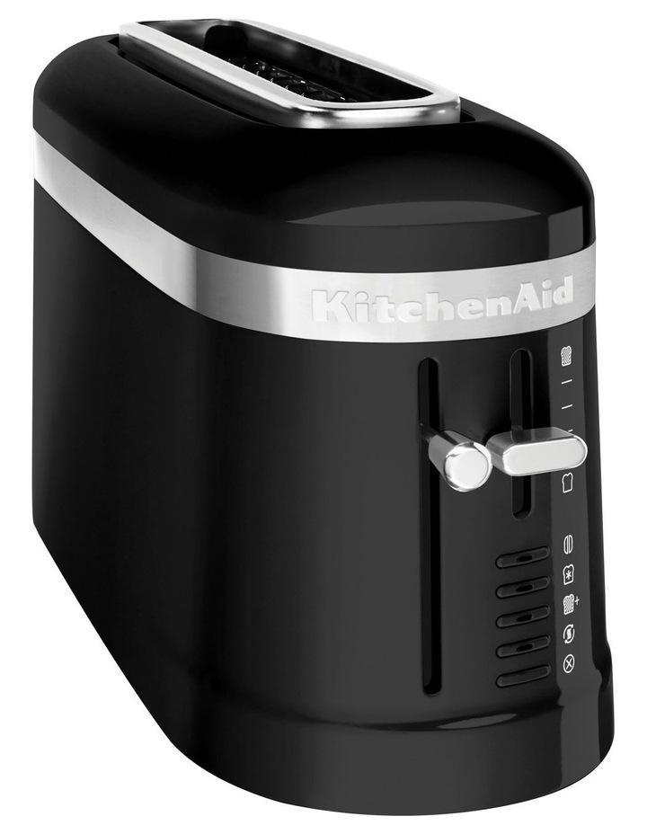 Design Collection 2 Slice Toaster Onyx Black 5KMT3115AOB image 2