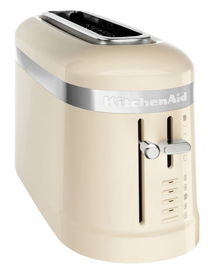Design Collection 2 Slice Toaster Almond Cream 5KMT3115AAC image 1