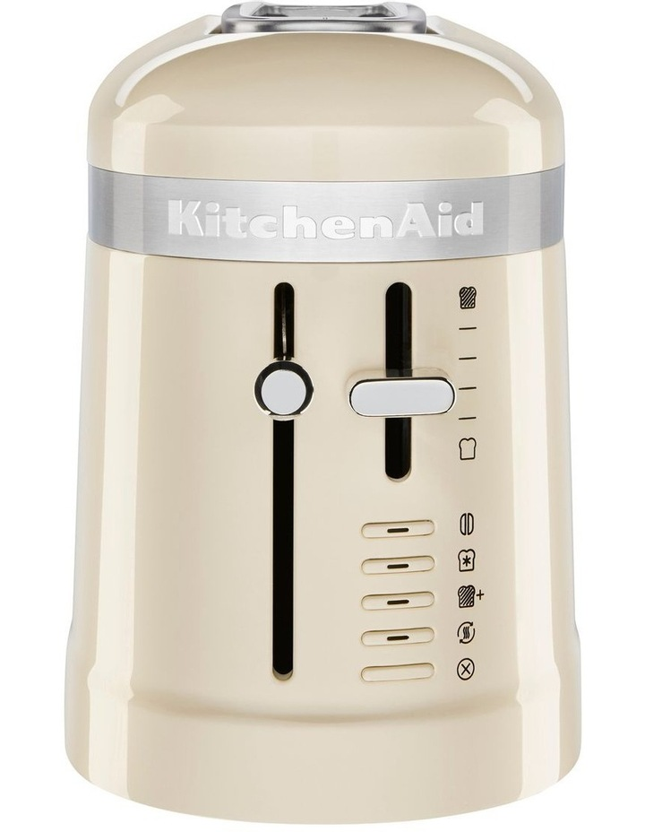 Design Collection 2 Slice Toaster Almond Cream 5KMT3115AAC image 2