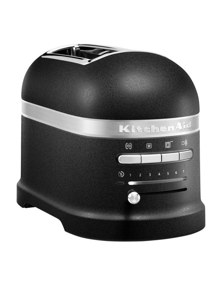Pro Line Series 2 Slice Automatic Toaster Cast Iron Black 5KMT2204ABK image 1
