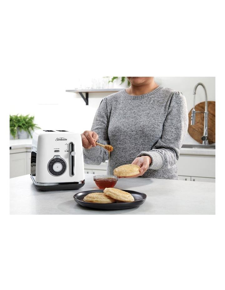 Alinea Select 2 Slice Toaster White TA2820W image 2