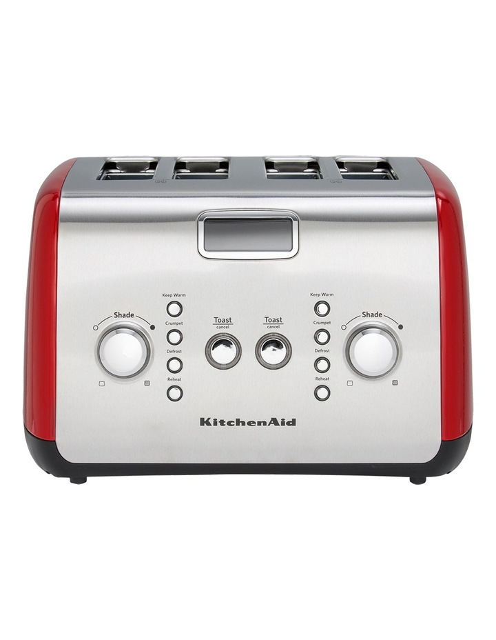 Artisan 4 Slice Toaster Empire Red: KMT423 image 1