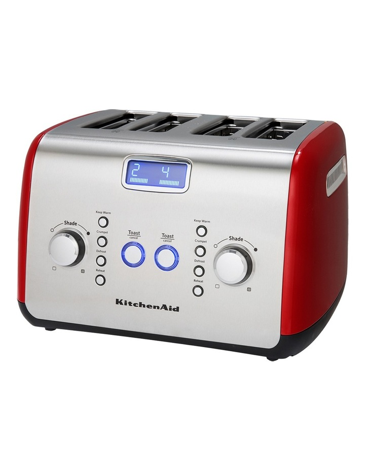 Artisan 4 Slice Toaster Empire Red KMT423 image 2
