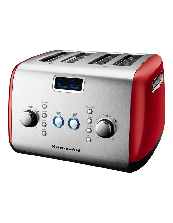 Artisan 4 Slice Toaster Empire Red: KMT423 image 3