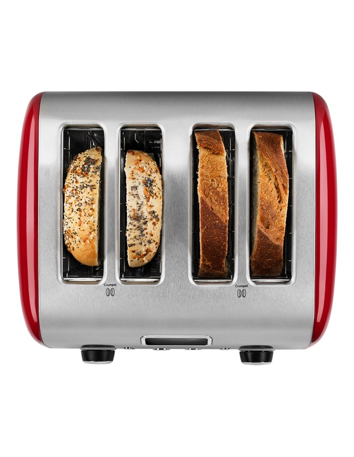 Artisan 4 Slice Toaster Empire Red: KMT423 image 4