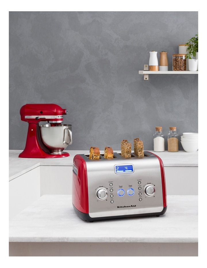 Artisan 4 Slice Toaster Empire Red: KMT423 image 6