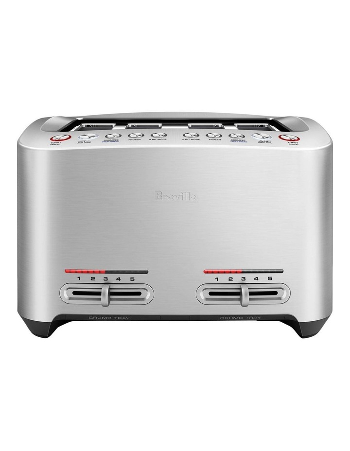 the Smart Toast 4 Slice Toaster Brushed Stainless Steel BTA845BSS image 1