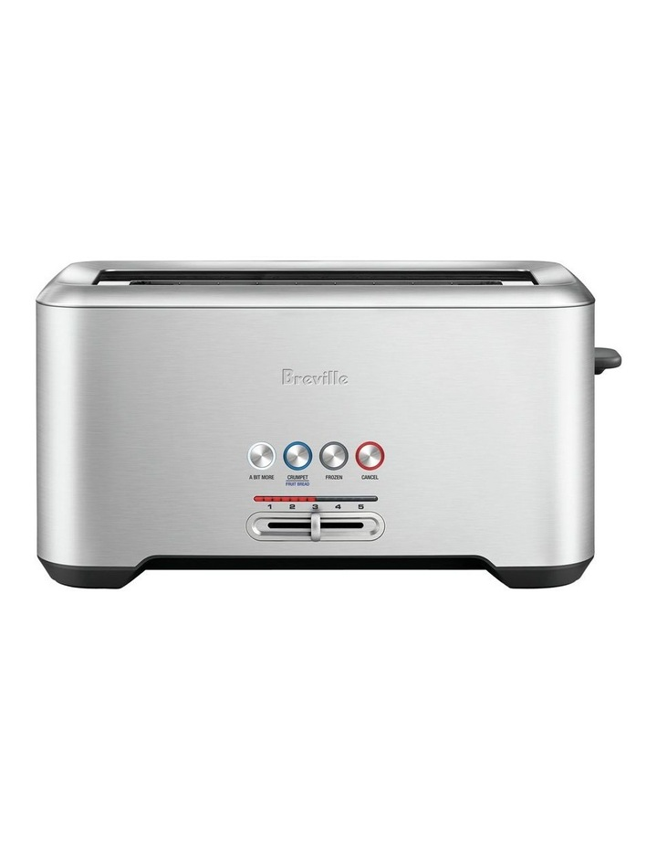 The Lift & Look Pro 4 Slice Toaster in Brushed Stainless Steel BTA730BSS image 1