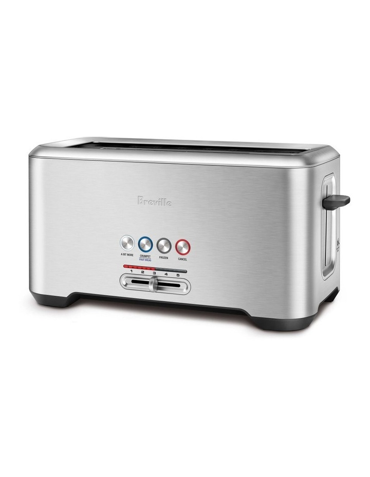 The Lift & Look Pro 4 Slice Toaster in Brushed Stainless Steel BTA730BSS image 2