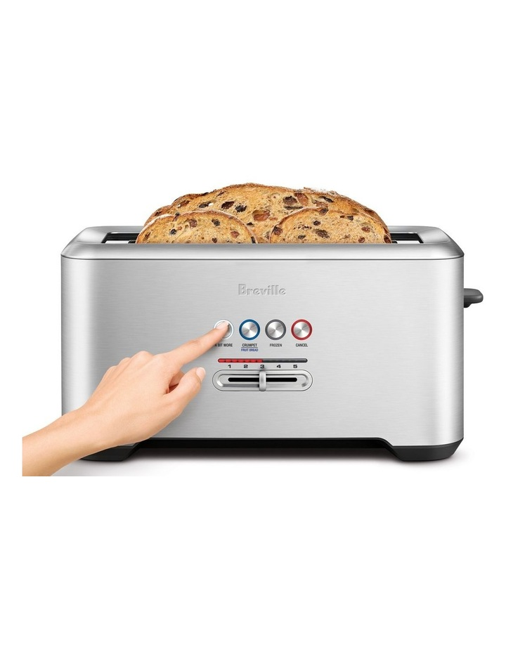 The Lift & Look Pro 4 Slice Toaster in Brushed Stainless Steel BTA730BSS image 3