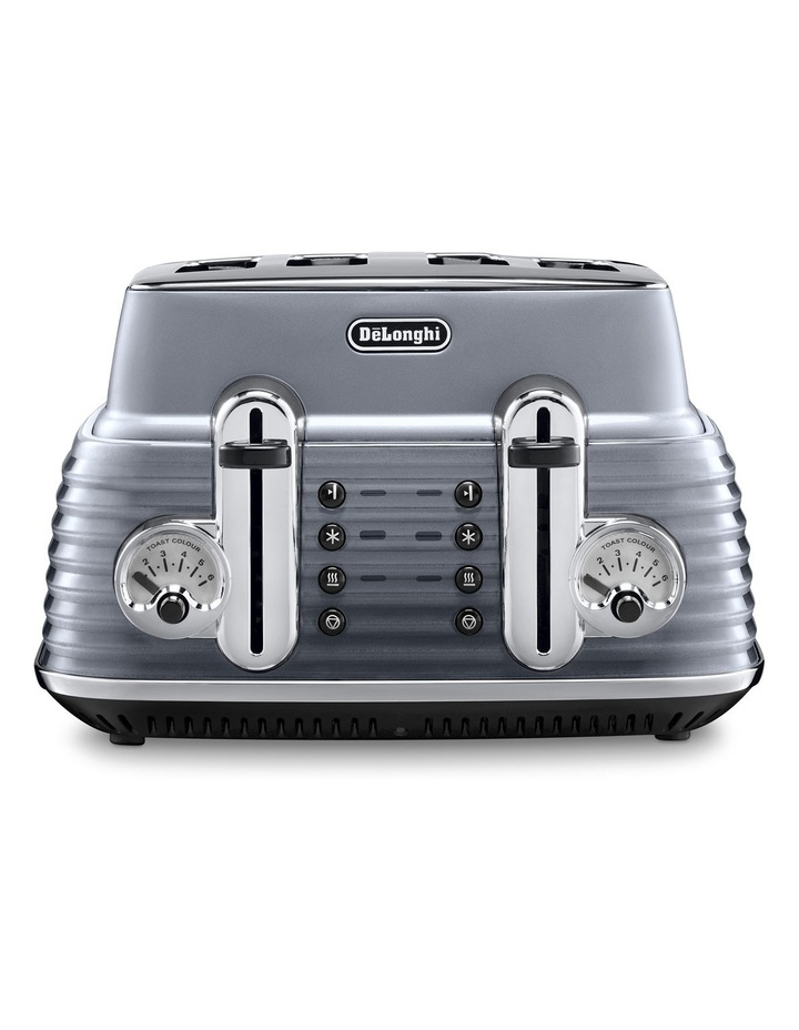 CTZ4003GY Scultura 4 Slice Toaster: Steel Grey image 1