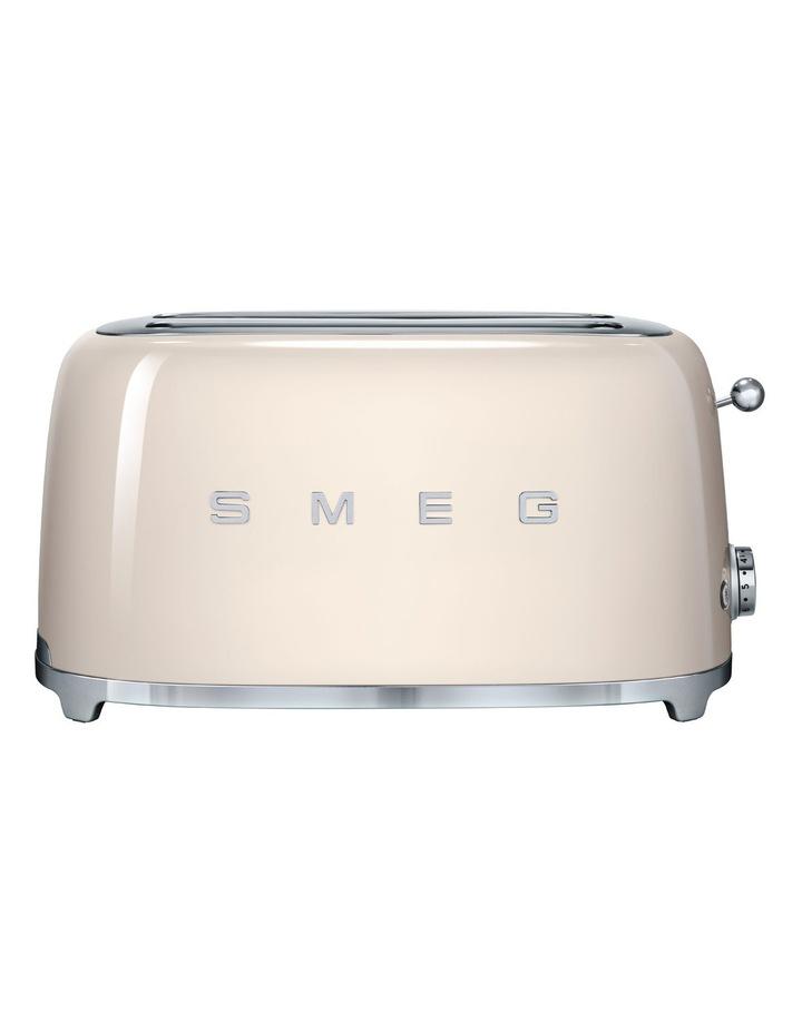 50's Style Longslot 4 Slice Toaster Cream TSF02CRAU image 1