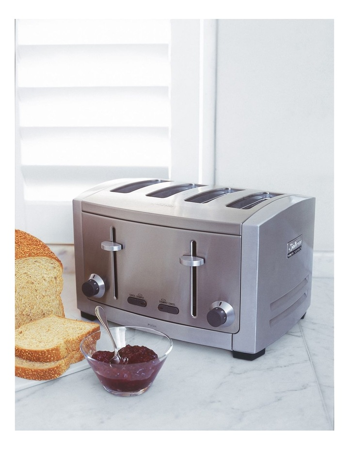 Cafe Series 4 Slice Toaster: Stainless Steel TA9400 image 5