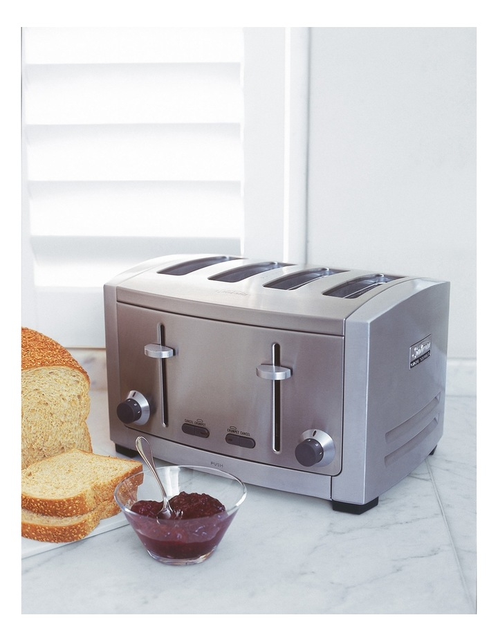 Cafe Series 4 Slice Toaster: Stainless Steel TA9400 image 6