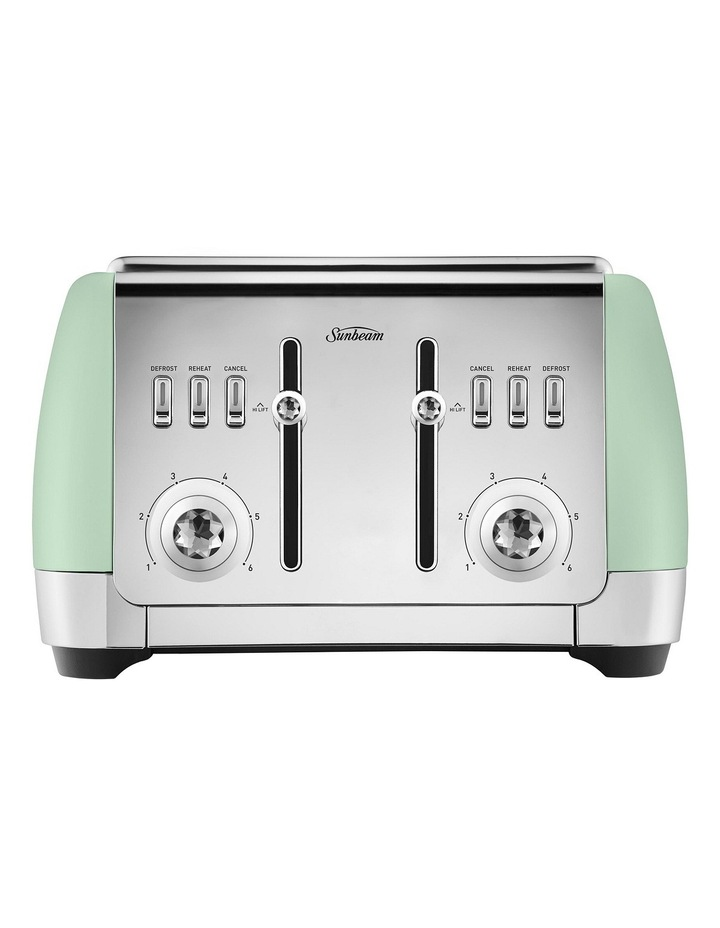 TA2240B London Collection 4 Slice Toaster: Green image 1