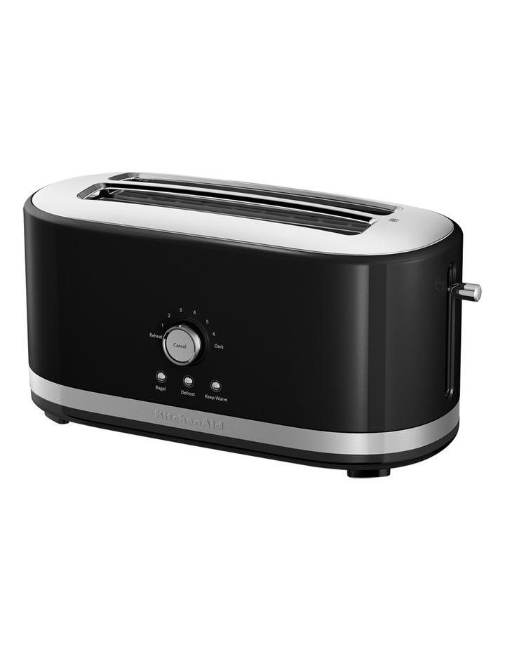 Artisan 4 Slice Long Slot Toaster: Onyx Black image 1