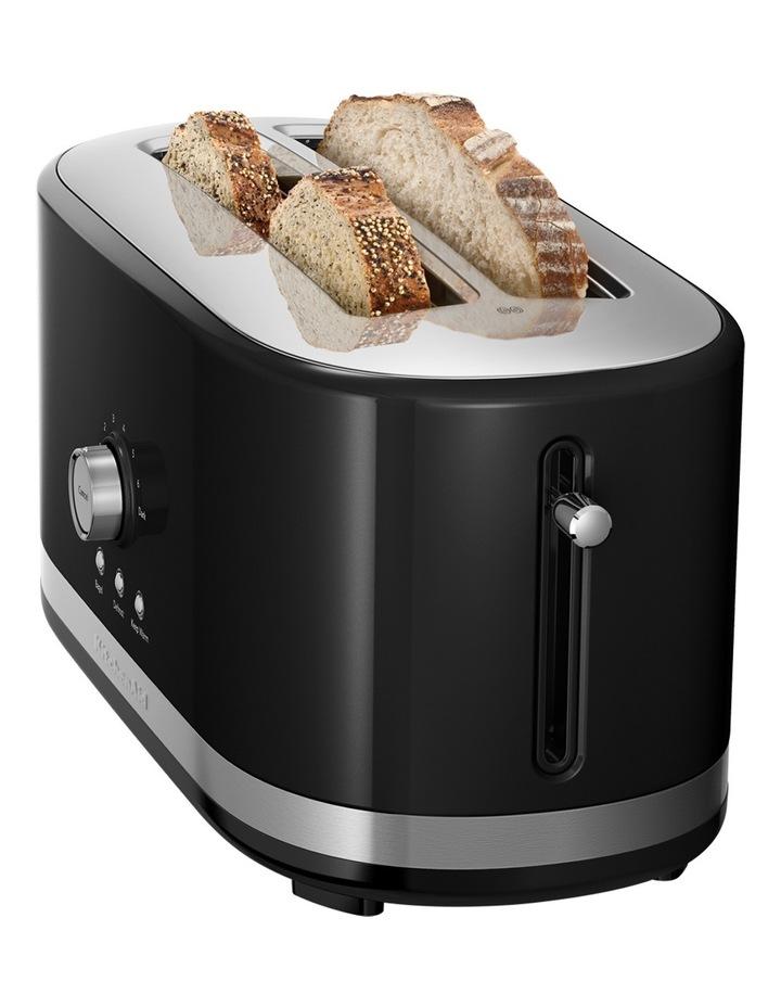 Artisan 4 Slice Long Slot Toaster: Onyx Black image 2