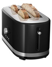 KitchenAid - Artisan 4 Slice Long Slot Toaster: Onyx Black